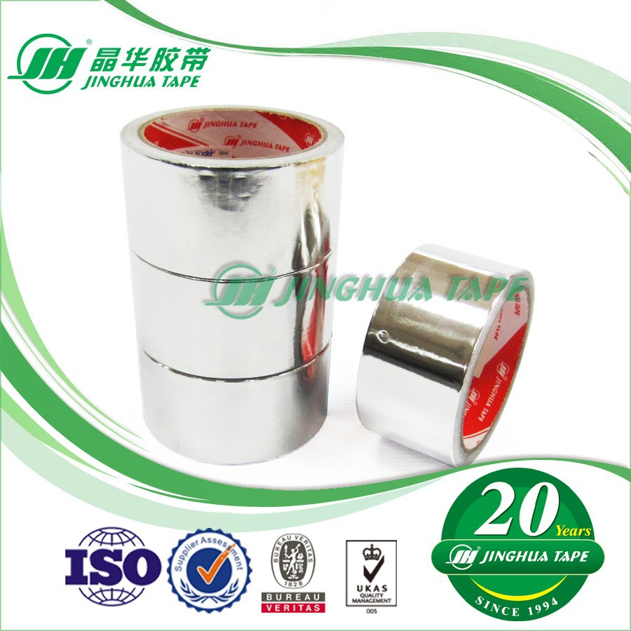JAL150 adhesive heat resistant aluminum foil air conditioner tape