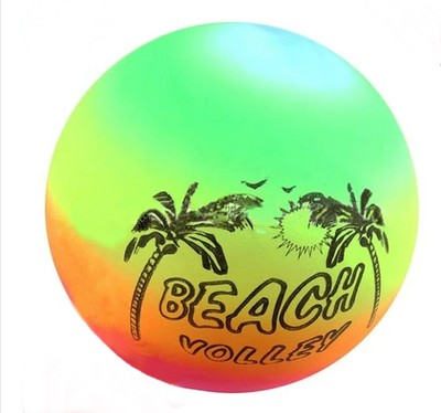 hot new products eco-friendly inflatable beach bouncing ball color changing ball