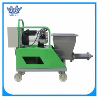 concrete spraying pump machine/spraying machinery for wall grouting