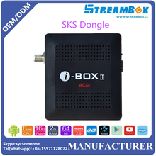 South America I-Box Satellite Receiver With ACM H.264 USB Wifi IKS SKS Dongle IPTV and Youtube