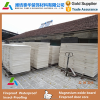 China 3- 20mm competitive price fireproof magnesium oxide wall board