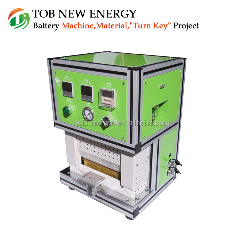 Easy Operated Lithium Battery Top and Side Heat Sealing Machine for Pouch Cell Packing