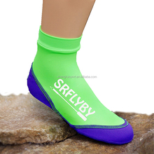New type Kids stretch neoprene lycra beach socks diving shoots snorkelling shoes