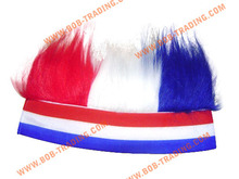 Wholesale and high quality headband wigs colorful mohawk wigs