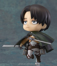 best selling japan game Attack on Titan mini levi soldier pvc toys for sale