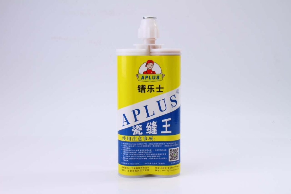 Liquid epoxy resin tile and grout adhesive