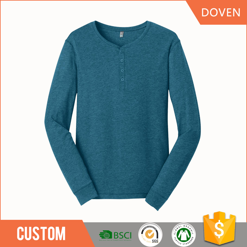 OEM blank quick dry 200gsm cotton t-shirt long sleeve