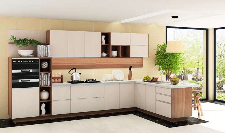 wooden cabinet kitchen with lowest price