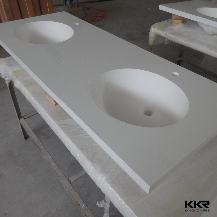 prefabricated solid surface banjo countertop