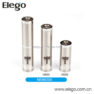 Hot selling! Airflow Control Mechanical Stainless steel Nemesis Mod V4 Wholesale Elego