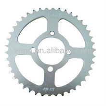 AX100 42 Tooth Motorcycle Rear Sprocket 45 # Steel