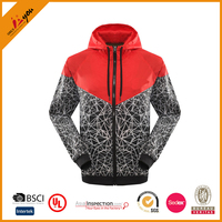 Wholesale Unisex Outdoor hooded Windbreaker Jackets