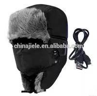 New design black folding bluetooth earmuff sauna hat snow bluetooth ear flap hat made in China