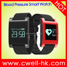Smart DM68 OLED IP67 Waterproof Bluetooth Smart watch 2017 China Manufacturer Heart Rate Compatible with iOS&Android