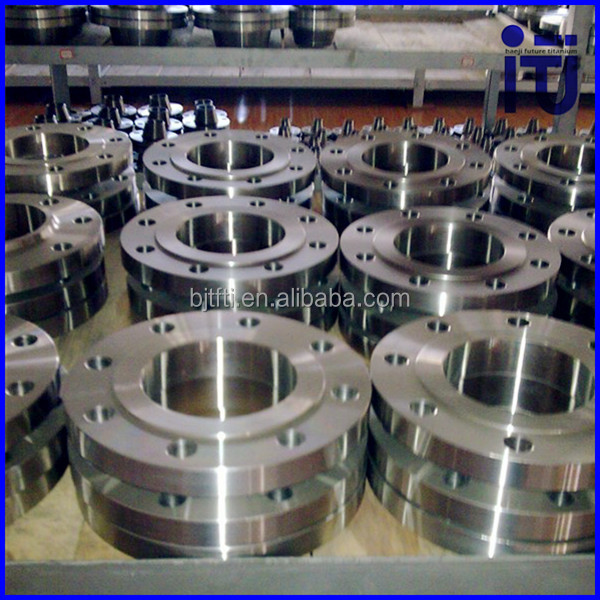 ASTM B16.5 titanium Flange for chemical industry in stocks 7 8 eia flange connector