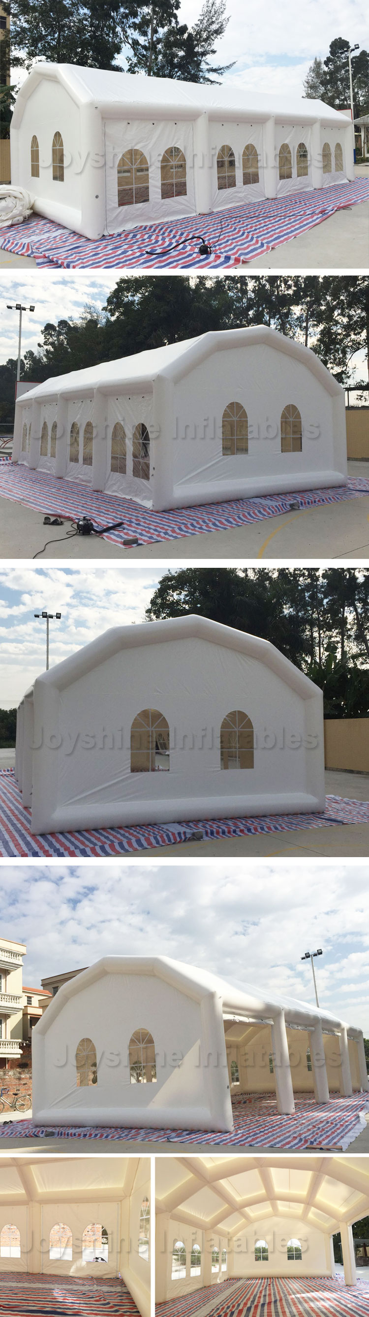 Outdoor Inflatable Restaurant Event Party Window Tent House For Sale