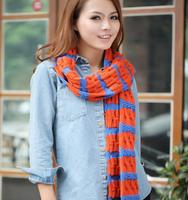 (12)Good quality rainbow scarf fashion accessories Support small orders(Accept the design draft)