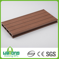 recyclable outdoor wood plastic floor boards