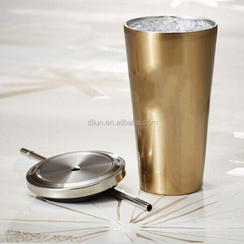 Stainless Steel Tumbler Starbucks Coffee Mug Tumbler with Straw and Lid