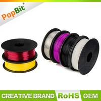 Multicolor 1.75MM/2.85MM/3.00MM Rubber Flexible Nylon Filament For 3D Printing