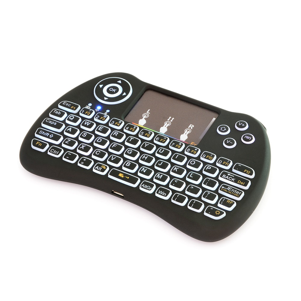 Stylish H9 Silicon keys Plastic Shell Rechargable Lithium ion Battery mechanical keyboard gaming