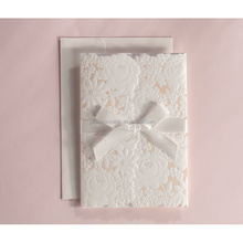 Ideal Products Design New Models Elegant Satin Wedding Invitations