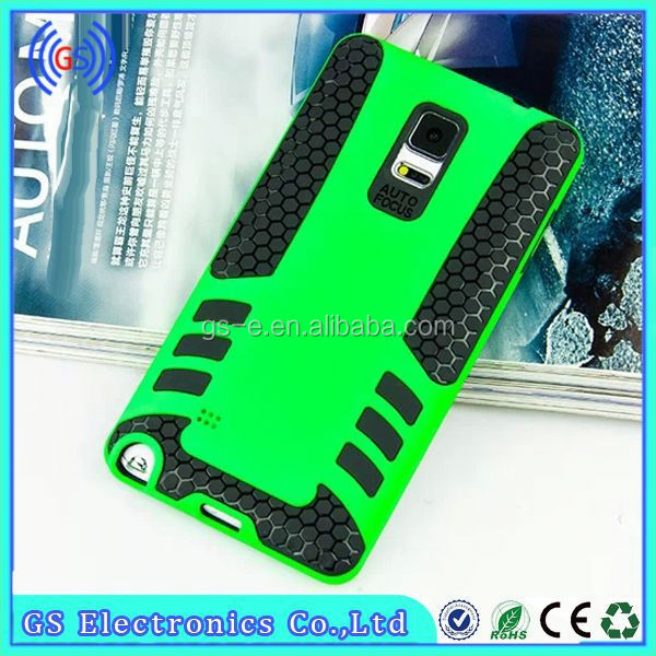 New Design Rocket Rubber TPU&PC Gel cell phone case for Iphone6 5.5
