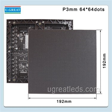 CE RoHs Cereificate High-Definition Indoor P1.923 LED Module for 3D Display