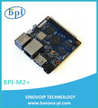 Cheap price banana pi m2+(H3) with wifi chip circuit board