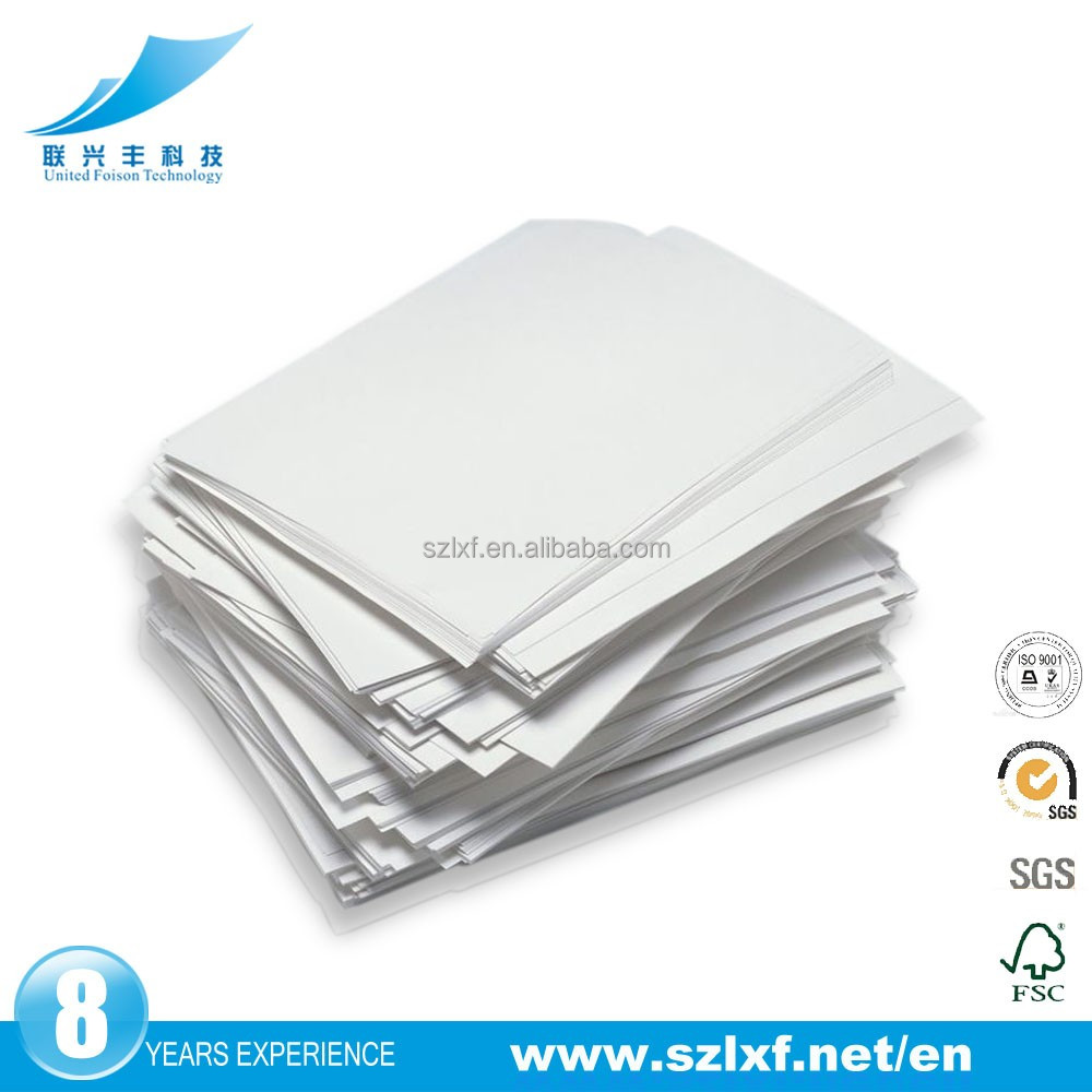 2016 Factory directly double 70gsm 110 brightness a4 copy paper for printer