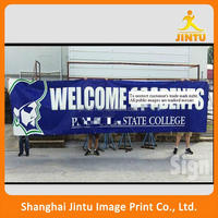 Polyester Flags Banners and Hanging Style advertising wall Hanging Poster