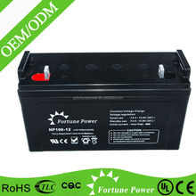 High Performance 12V 100AH AGM Sealed Lead Acid Battery For UPS, Solar