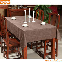 50% polyester 50% cotton home tablecloth