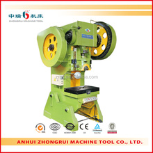 Stock of steel angel punching machine