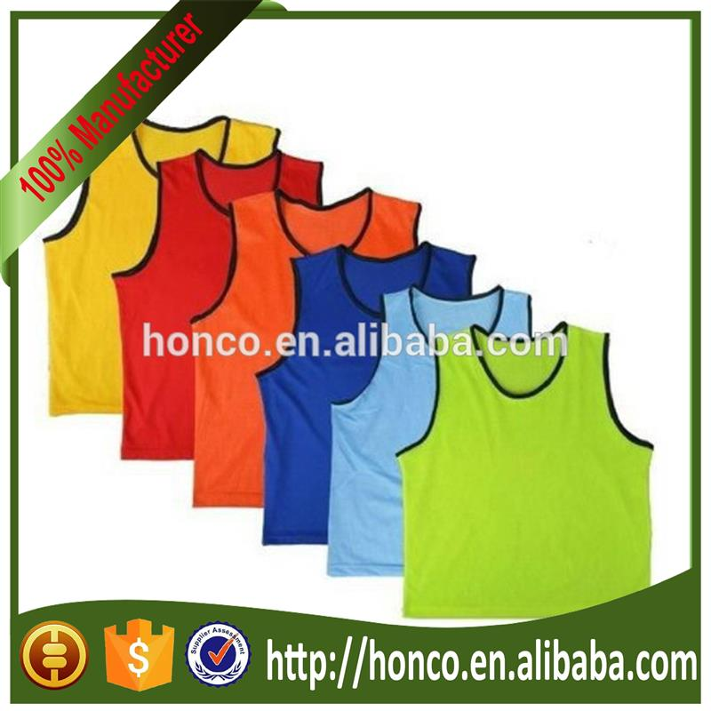 2016 soccer training vests with quick shipping HC6892