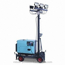 MHL floodlight halogen portable emergency compact Light Tower mini project mechanical civil engineering industrial lighting