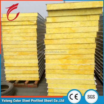 Best Price New Design 75mm Glass Wool Sandwich Roof Panel