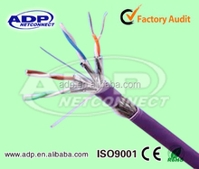 500MHZ Cat6A/600MHZ cat7/8 Network cable UL PASS FLUKE