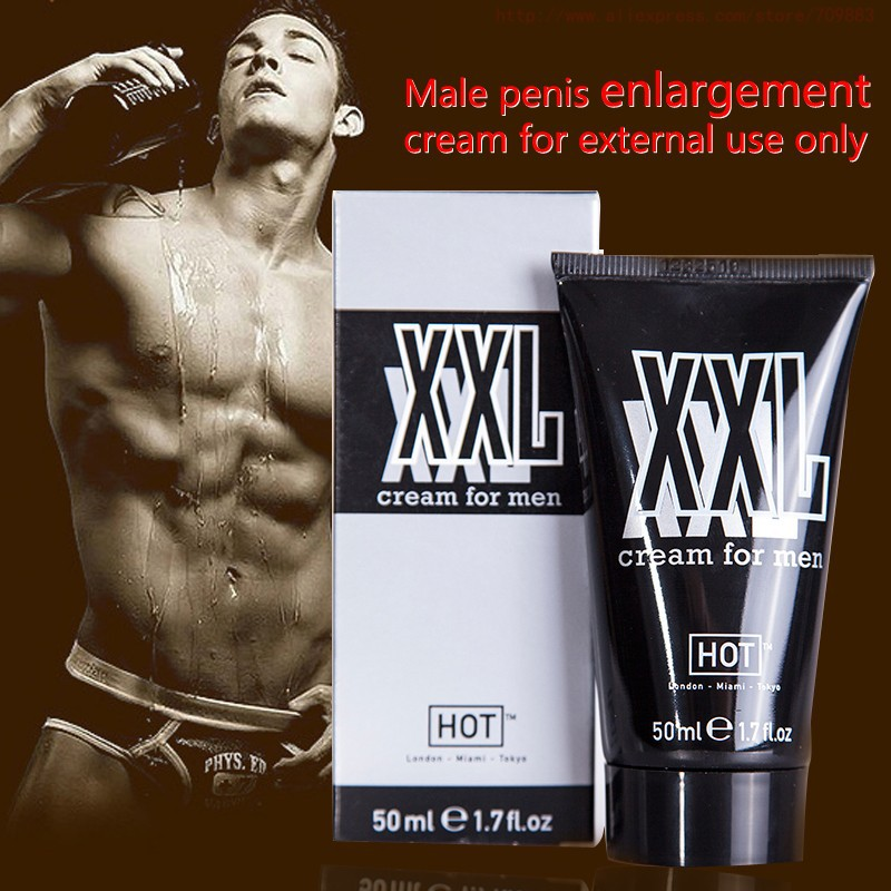NEW Male penis enlargement products increase XXL cream Increasing enlargement cream 50ml TITAN sex products for men gel