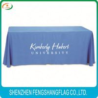 Fancy wholesale polyester table cover / Wedding Table Cloth