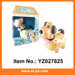 Battery Operated Dalmatian electronic educational toy puppy with music & light kids educational electronic toy dog