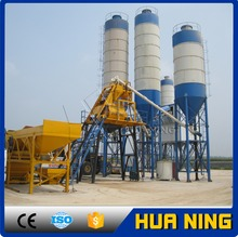 High efficiency HZS50 concrete batching plant with high quality and competitive price on sale