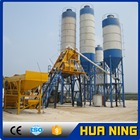 High efficiency ready mix concrete plant HZS50 concrete batching plant with high quality and competitive price