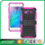 hotsale design pc+tpu mobile phone 2in1 stander armor case for samsung J7
