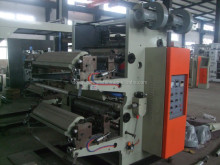 High speed two / 2 colors Plastic Bags Flexo Printing Machine Roll to Roll