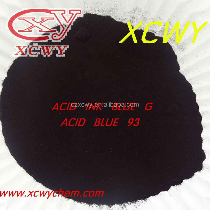 Acid Ink Blue G,ACID BLUE G C.1.Acid Blue 93(42780)