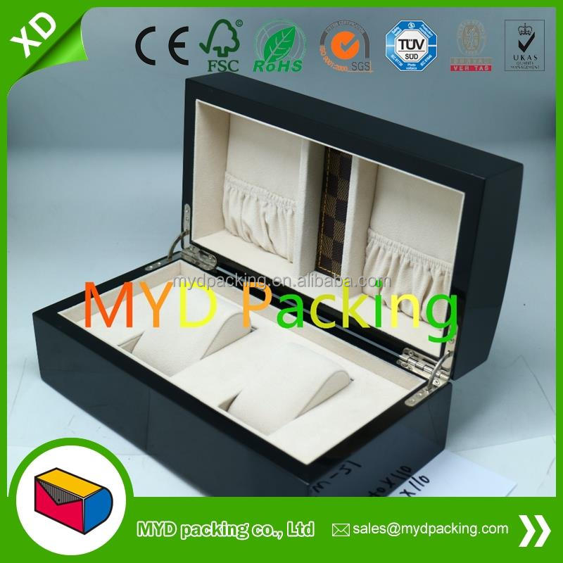promotional luxury wooden watch box