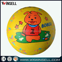 rubber toy basketball ball for kid game, children toy kids basketball