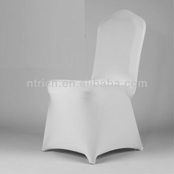 chair covers stretch,Lycra/Spandex chair cover with sash for wedding and banquet