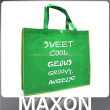 full color printing Recycled pp non woven folder bag made in china